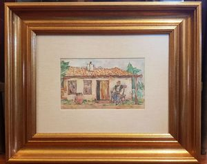 Nicolae TONITZA - Drawing-Watercolor - Landscape