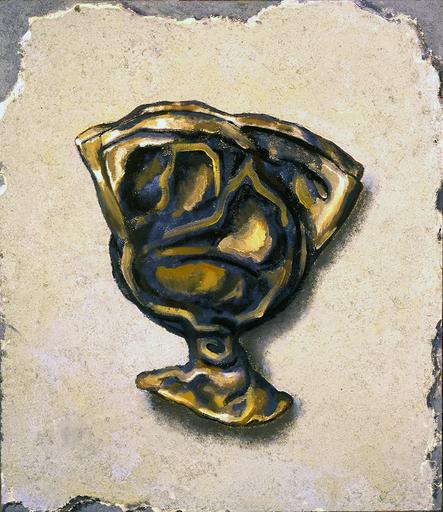 Andrei Borisovich GROSITSKY - Pintura - Broken Jar in the wall