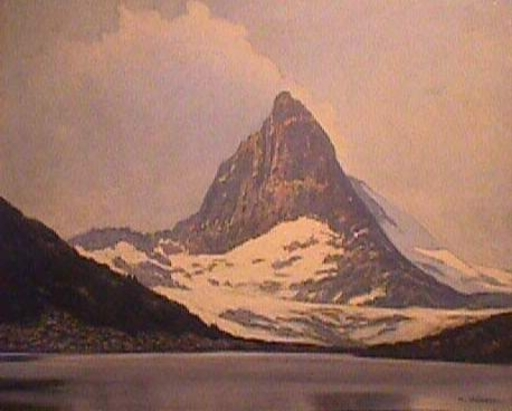 Herbert KURON - Pintura - Matterhorn