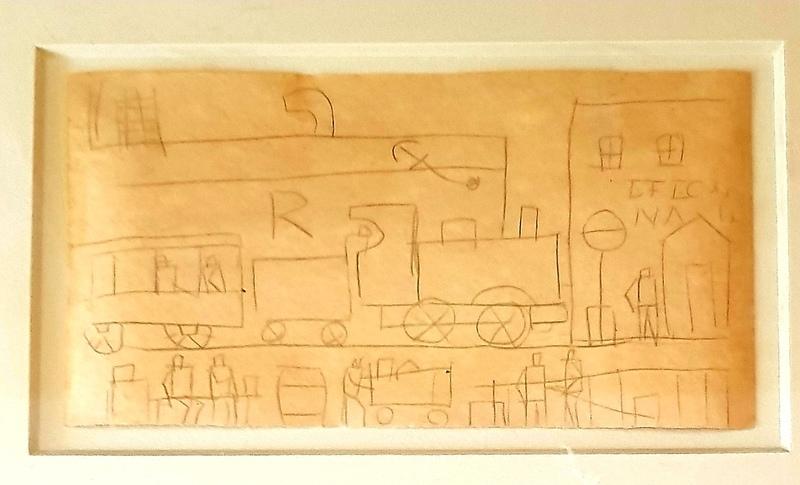 Joaquín TORRES GARCÍA - Painting - Ciudad Portuaria