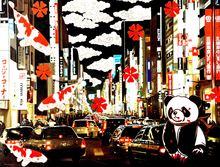 Hiro ANDO - Gemälde - ola