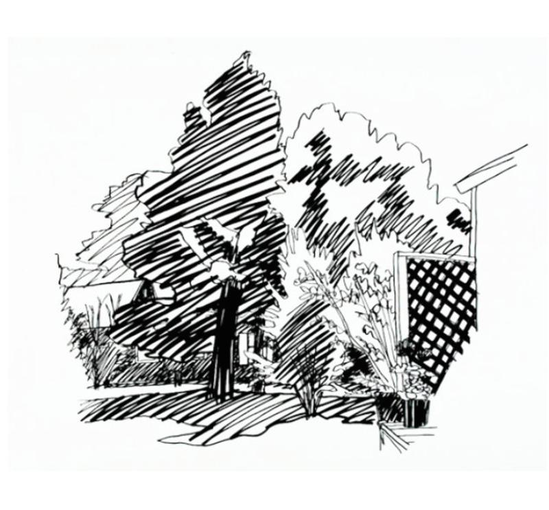 Tom WESSELMANN - Stampa Multiplo - Jennies Backyard