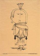 Paul KLEE (1879-1940) - Die Hexe mit dem kamm