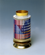Yaacov AGAM - Sculpture-Volume - Revolving Kiddush Cup
