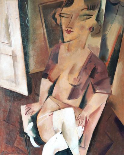 Alberto MANFREDI - Pittura - Le calze bianche