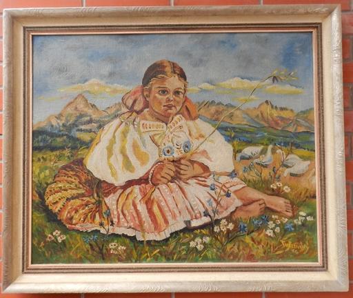 Alois TUZINSKY - Painting - Husopaska