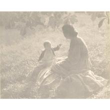 Edward STEICHEN - Fotografia - Mother and Child--Sunlight