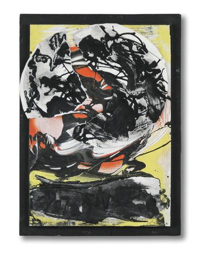 Emilio VEDOVA - 绘画 - Oltre/Transiti'90-4