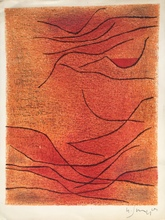 Gustave SINGIER - Grabado - ABSTRACTION