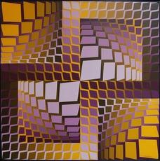 Victor VASARELY - Peinture - Kita