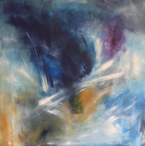 Christine BARTH MROZ - Peinture - Feux d'artifices