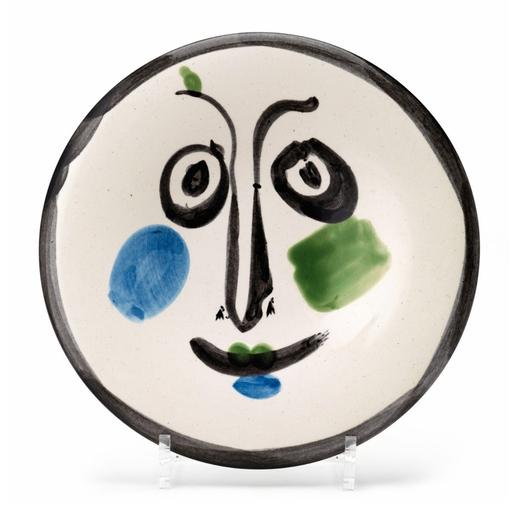 巴勃罗•毕加索 - 陶瓷  - Visage no.197