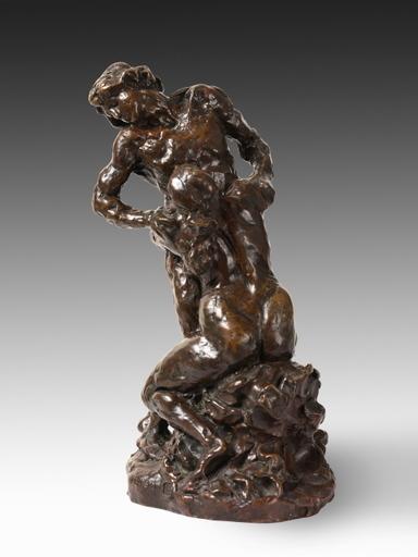 Aimé-Jules DALOU - Sculpture-Volume - La Supplication, étude pour le groupe du Monument à Gambetta