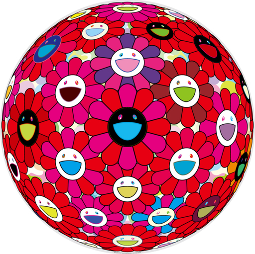 Takashi MURAKAMI - Estampe-Multiple - Burning Blood