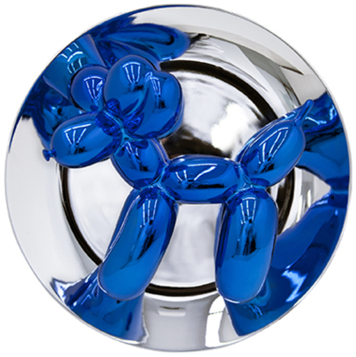 Jeff KOONS - Sculpture-Volume - Balloon Dog (Blue)