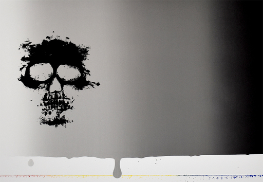 Jasper JOHNS - Stampa-Multiplo - Untitled [Skull], from: Reality and Paradoxes