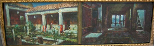 Augusto G. MENOCAL - Painting - Interior y Exterior