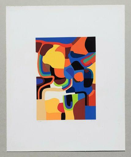 Alberto BURRI - Print-Multiple - Trittico E - Serigrafia 3-E