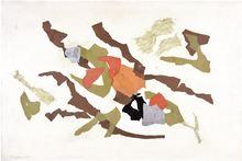 Giulio TURCATO - Peinture - L'Acropoli