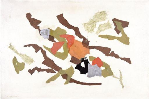 Giulio TURCATO - Pintura - L'Acropoli