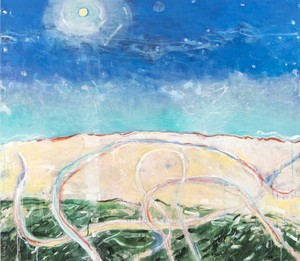 Rick RIVET - Pittura - Above the Beach No 5