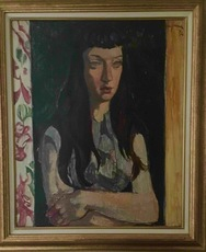 Jean AUJAME - Painting - Joelle