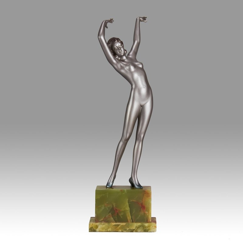 Josef LORENZL - Skulptur Volumen - Stretched Dancer