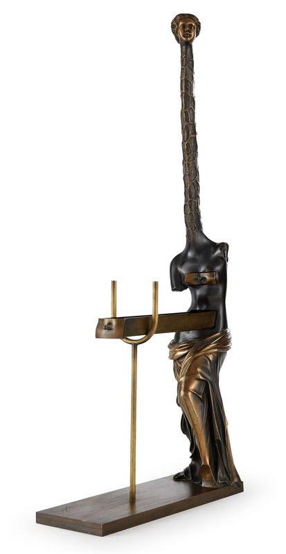 萨尔瓦多·达利 - 雕塑 - Venus a la girafe