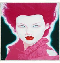 FENG Zhengjie - Estampe-Multiple - Chinese Portrait (b)