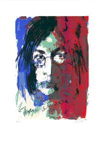 7478ac88515a6 Tribute to John Lennon by | Armin MUELLER-STAHL | buy art online ...