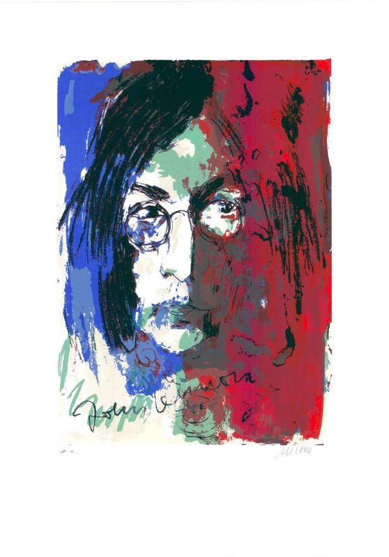 Armin MUELLER-STAHL - Print-Multiple - Tribute to John Lennon