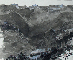 Ulpiano CHECA Y SANZ - Drawing-Watercolor -   Espagne -  Zacharie Astruc