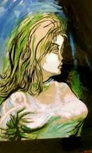 Renato GUTTUSO - Painting - Stai lontana da me