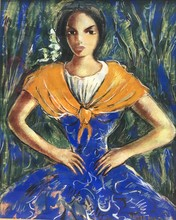 Victor MANUEL - Pintura - Gitana