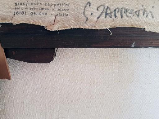 Gianfranco ZAPPETTINI - Gemälde - Struttura in L