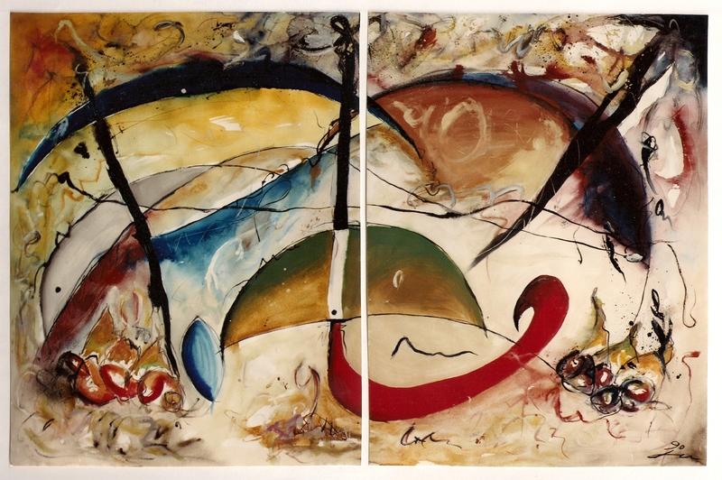 Hans-Werner BERRETZ - Pintura - Aparis