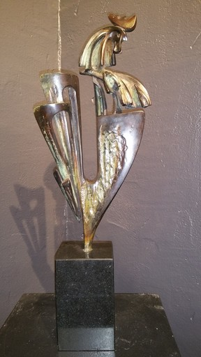 Ivan KULINSKI - Sculpture-Volume - le coq