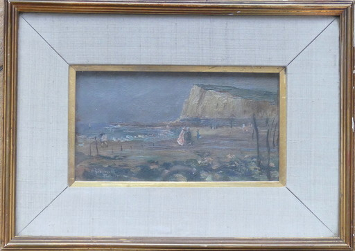 Norbert GOENEUTTE - Painting - Bord de mer