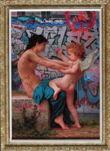 Marco BATTAGLINI - Painting - El Eterno Juego