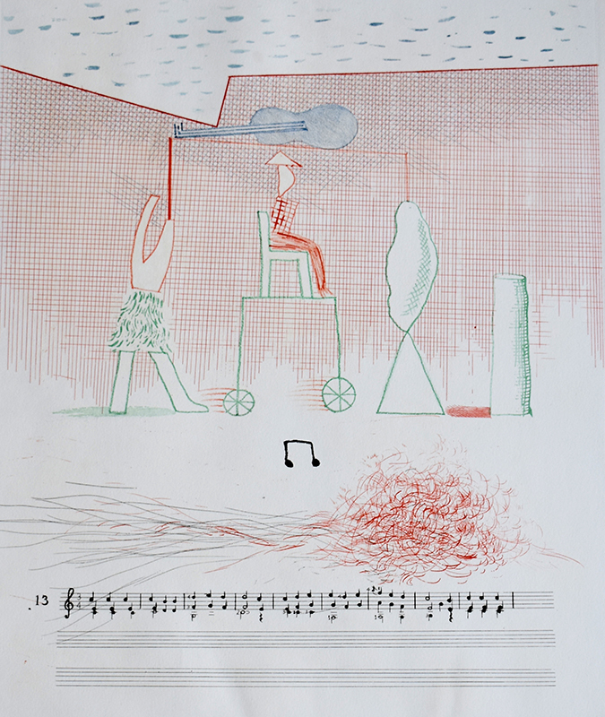 David HOCKNEY - Print-Multiple -  Parade
