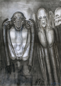 The Tourist VII by | H R  GIGER | buy art online | artprice