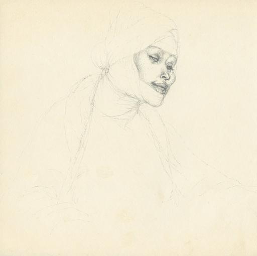 Cornelis ZITMAN - Zeichnung Aquarell - Sin título