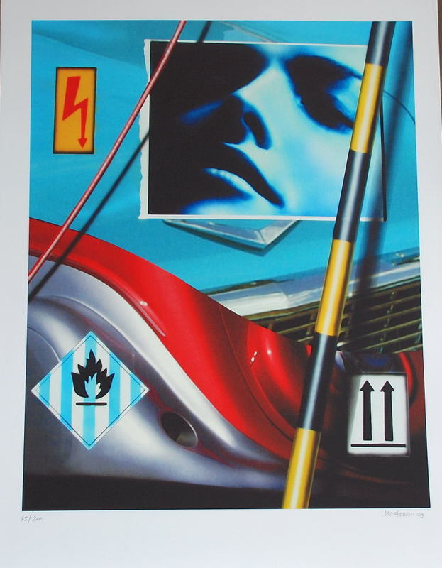 Peter KLASEN - Print-Multiple - Cars and Girls