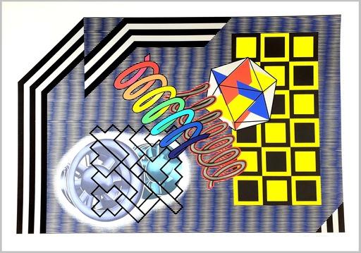 Peter PHILLIPS - Print-Multiple - Untitled