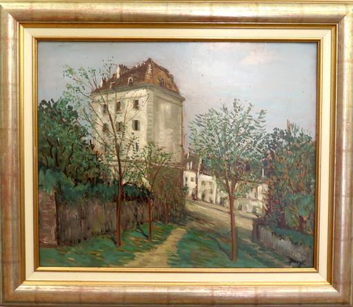Alphonse QUIZET - Peinture - Montmartre, Paris