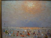 André HAMBOURG - Pittura - à marée basse