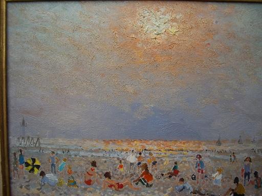 André HAMBOURG - Pintura - à marée basse