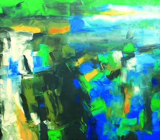 K. M. ADIMOOLAM - Pintura - Untitled
