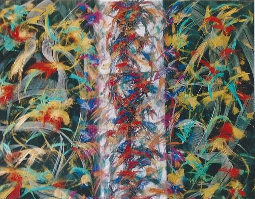 Didier ANGELS - Peinture - Fascination asiatique
