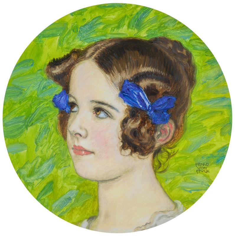 Franz VON STUCK - Pintura - Mary Tochter